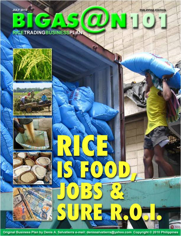 Rice Farming Processing / Production Business Plan in Nigeria