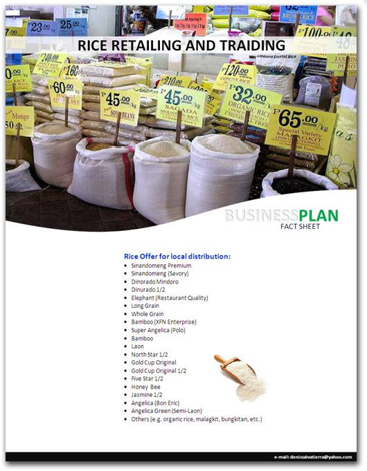 rice business plan pdf