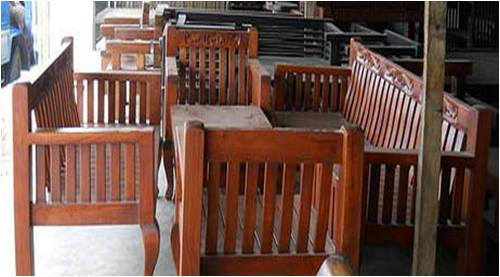Authentic Wooden And Handcrafted Furniture From The
