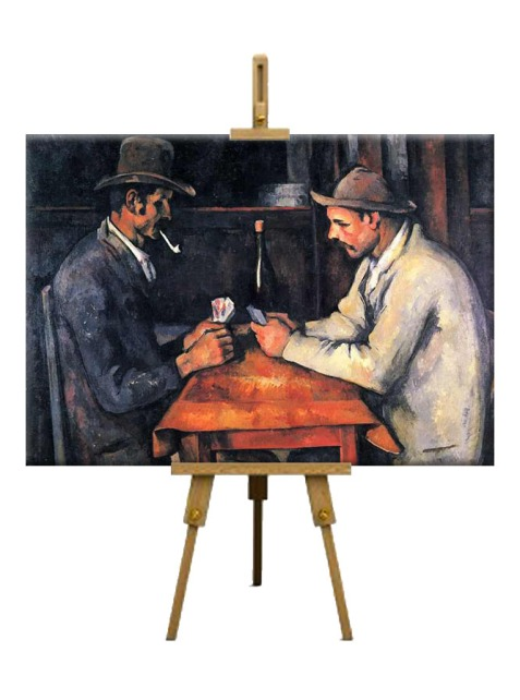 1 The Card Players by Paul Cézanne (2011)