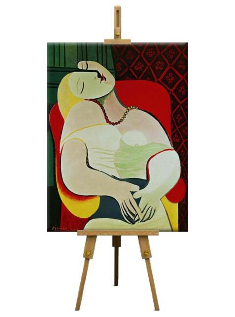 2 La Rêve (The Dream) by Pablo Picasso (1932)