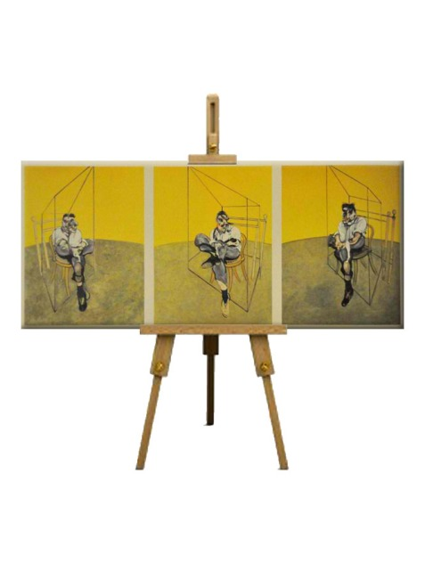 3 Three Studies of Lucian Freud by Francis Bacon (1969)