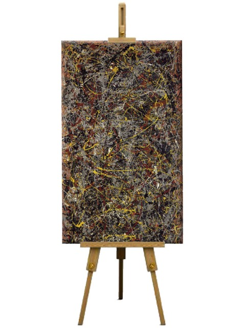 4 Number 5 by Jackson Pollock (1948)