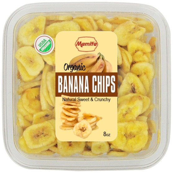 Banana Chips 8oz