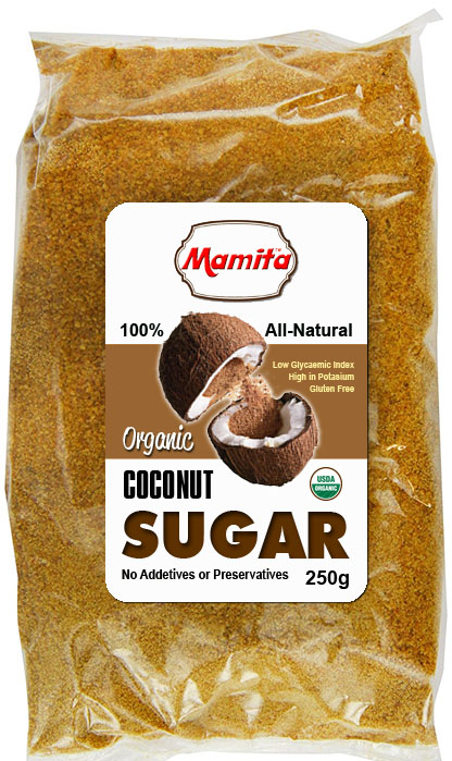 Coconut Sugar - Transparent Plastic Pack
