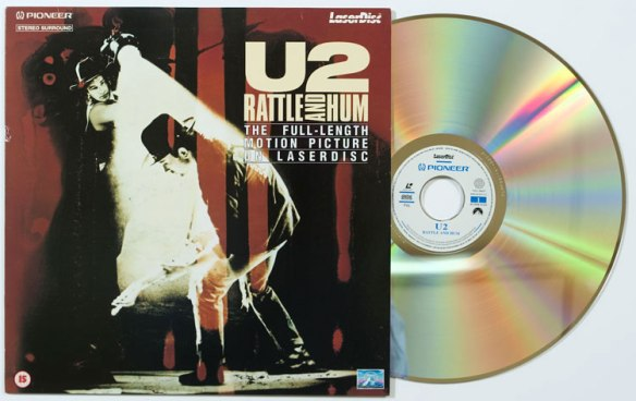 2. U2 - Rattle and Hum video Laser Disc