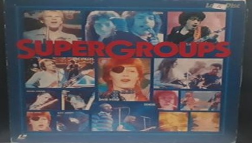 4. Super Group - Famous Rock bands video Laser Disc