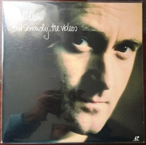 5. Phil Collins - But seriously video Laser Disc