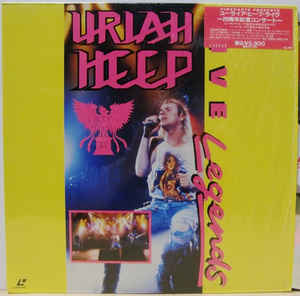 6. Uriah Heep - Live Legends video Laser Disc