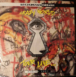 7. Scorpions - Crazy World Tour Live video Laser Disc